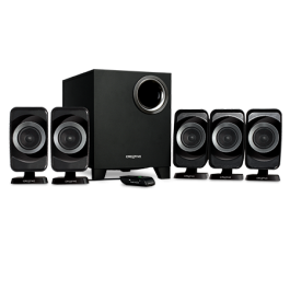 creative 5.1 SBS A520 5.1 speakers - Compact, affordable speaker .